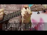 How to play Somewhere over the rainbow (ukulele tutorial) / Урок игры на укулеле