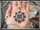 DIY modulo DEXTER per Orecchini Ciondolo Bracciale O beads Superduo Cipollotti Twin perline