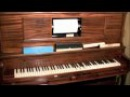 Dixie player piano roll