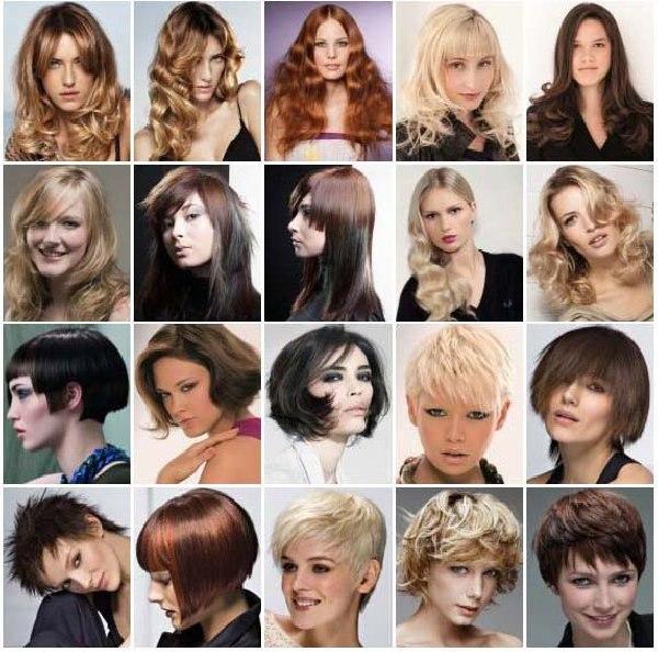 Модные стрижки на разные волосы