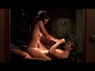 Лиззи Каплан (Lizzy Caplan) голая в сериале «Настоящая кровь» (2008)