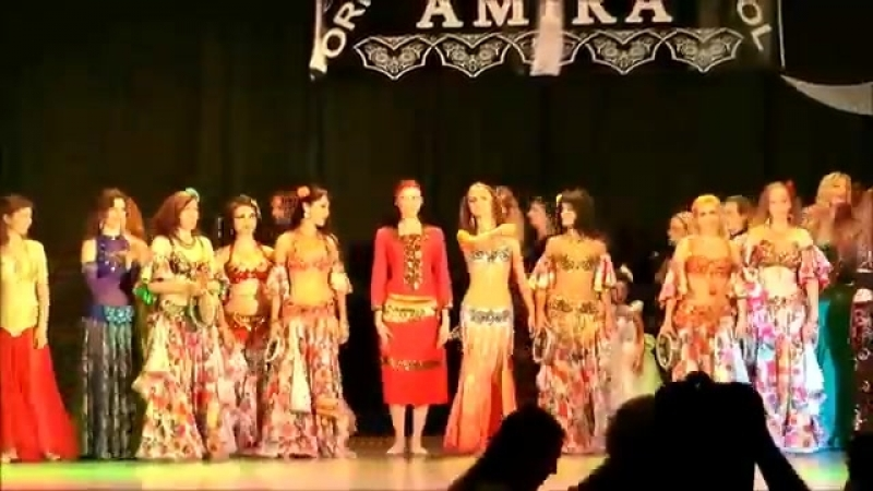 Arabic Gypsy belly dance fusion by Amira Abdi 24.07.2015