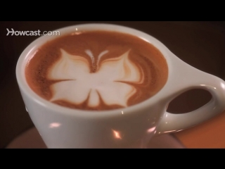 How to Etch a Butterfly - Latte Art