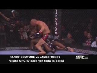 UFC 118 Sumisión de la semana Couture-Toney