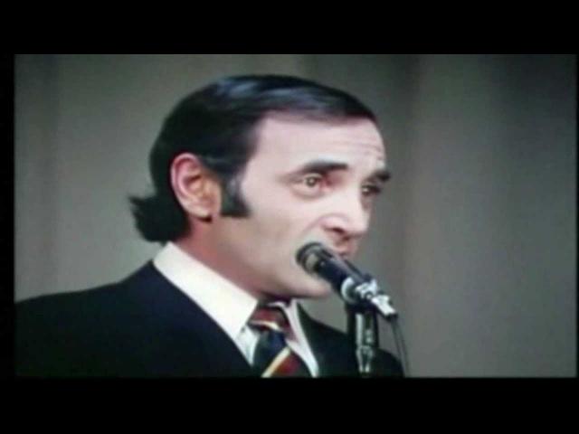 CHARLES AZNAVOUR - LA BOHEMIA - español YOU TUBE