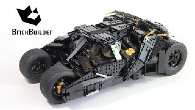 Lego Super Heroes 76023 The Tumbler - Lego Speed Build