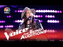 The Voice 2015 Blind Audition - Lyndsey Elm Lips Are Movin