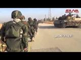 Операции армии во взаимодействии с группами народной обороны по позициям террористов в Алеппо сельской местности к юго-западу