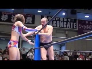 Kana & Minoru Suzuki vs. Syuri & Yoshiaki Fujiwara (Kana Pro Mania Party...