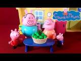 Свинка Пеппа Мультик с игрушками Коллекция игрушек Свинка Пеппа Часть 2