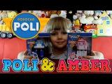 Игрушки Робокар Поли и его Друзья. Обзор Поли и Эмбер. Robocar Poli Rescue Team Toys на русском.