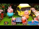 Свинка Пеппа на природе новый мультик с игрушками + обзор набора Весёлый Кемпинг