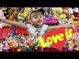 Киндер сюрпризы Love Is. Шоколадные яйца Любовь Это - Новинка 2015