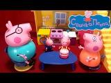 Свинка Пеппа мультик интерактивный с игрушками. День Рождения Пеппы Часть 2 (подарки на паровозике)