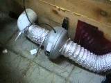Вентиляция Грибного цеха. Вытяжная труба (ventilation mushroom shop. ventpipe)