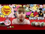 Angry Birds Stella шоколадные шары Чупа Чупс с сюрпризом Новинка 2015 Киндеры Энгри Бердз Стелла