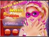 Super Barbie Nails Design Супер Барби Дизайн Ногтей Super Barbie Diseño De Uñas Super Barbie