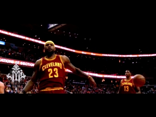 LeBron James DUNKS