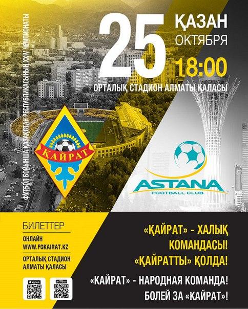 Кайрат - Астана