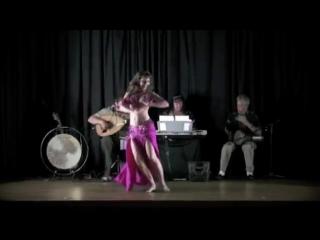 Maria at JOTS'11 gala show ~ bellydance ~ Leila & drum solo
