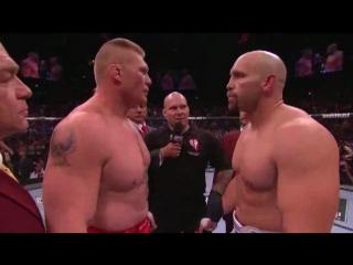 Брок Леснар - Шейн Карвин     Shane Carwin vs Brock Lesnar