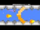 GeometryDash Pixel Paradise complete 3 coins by Jeyzor