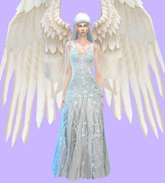 ангел симс 4