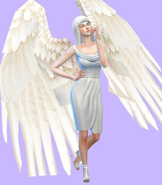 сим ангел симс 4