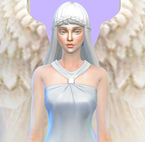 ангел для симс 4 скачать