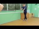 Танец Чечётка ,исполнители Даша и Кирилл! :D