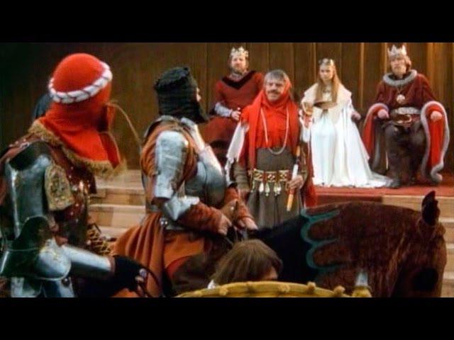 Неудачник - храбрый рыцарь - чешская немецкая сказка про принцессу