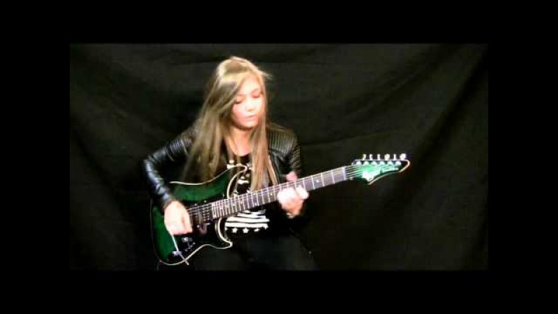 Gary Moore The Loner Cover HD by Tina S (15 years old girl).