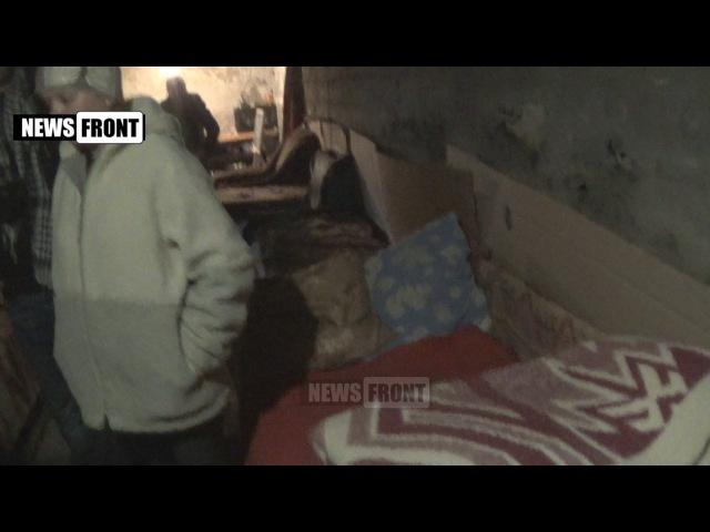 29 января 2016. Глубокая. Дети подземелья: где жители поселка Глубокая прячутся от украинских обстрелов