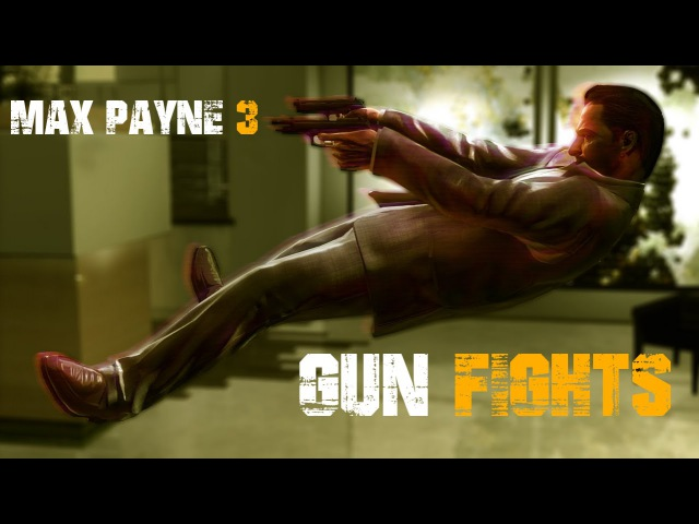 MAX PAYNE 3 Shootouts / Gun Fights Montage.