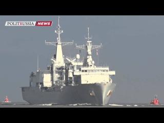 В Ригу прибыла эскадра кораблей НАТО