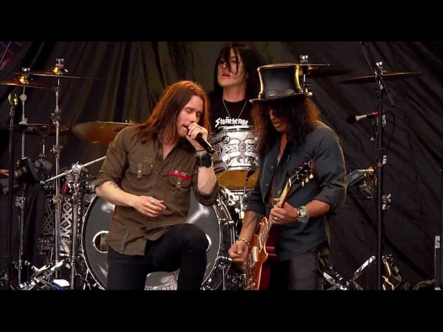Slash (Feat. Myles Kennedy) - Sweet Child O' Mine Rocket Queen [Live High Voltage 2011 HD 1080p]