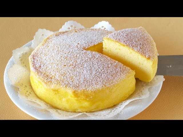 3-Ingredient Soufflé Cheesecake (Japanese Cotton Cheesecake) | OCHIKERON | Create Eat Happy :)