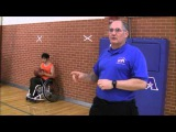 Five Minutes of Wheelchair Basketball U turns and J cuts
