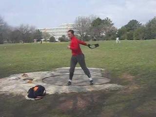 Sandra Perkovic - weight throwing