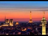 Большое путешествие по Парижу Ив Монтан Под небом Парижа