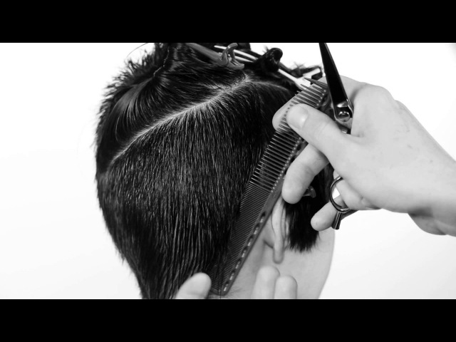 Short haircut for women,accent in a fringe