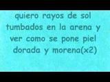 Rayos de sol .Jose de Rico ft Henry Mendez. LETRA