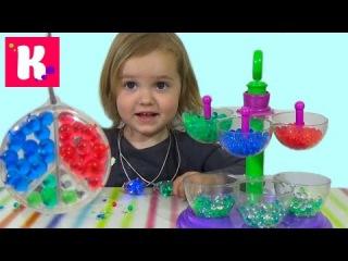 Ювелирная мастерская Орбиз c разноцветными шариками Orbeez jewelry maker set