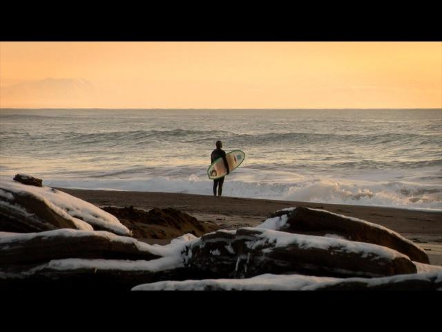 Kamchatka winter surf Зимние рассветы на берегу Тихого океана