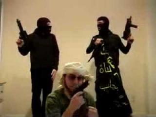 как снимают видео обращения террористы