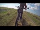 Мотовелосипед. Amazing GoPro Motorbike. HD