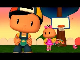 Развивающие мультфильмы для детей от 3 лет. Пеппе. 10 серия. Баскетбол