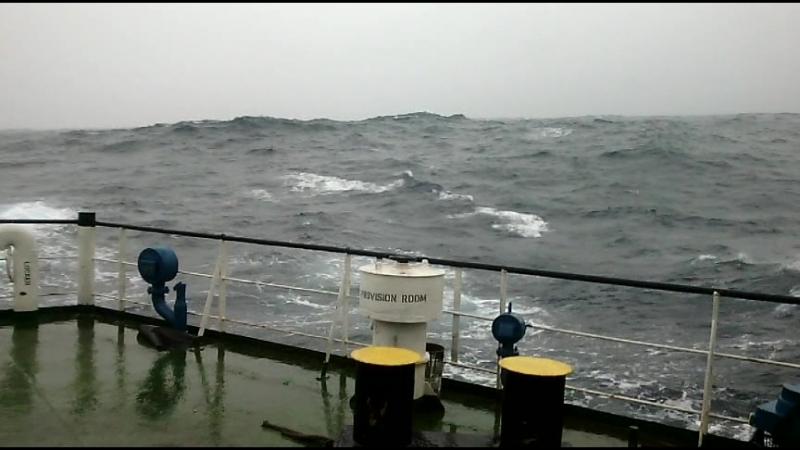 Бискайский залив 27 12 2015 шторм 9 баллов