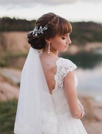 Прически свадебные казань