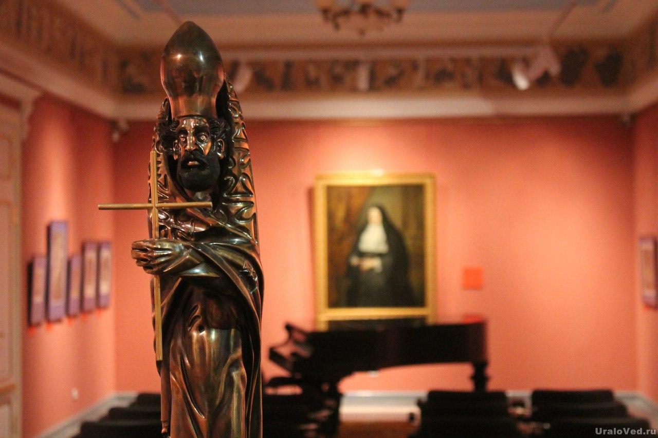 В музее гравюры